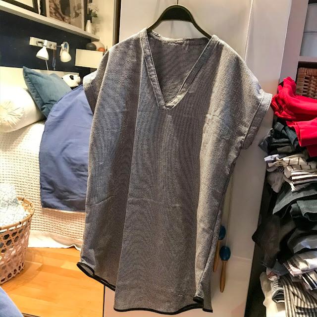 nattlinne, nightgown