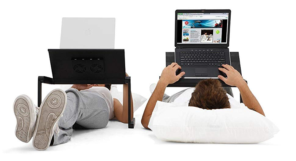 The Best Desk York Adjustable Laptop Stand to Use in Bed