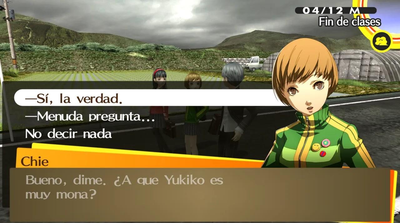 Persona 4 Golden Parche En Español