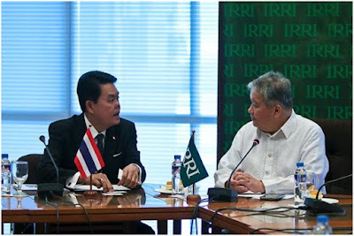 Thailand explores deeper collaboration with IRRI for stronger regional food security