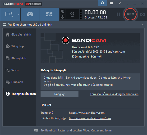 Bandicam 4.0.0 Full Crack