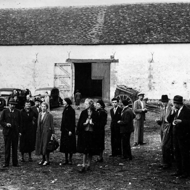 Refugees near Preuilly sur Claise June 1940, Indre et Loire, France.