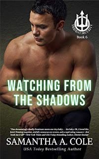 Watching From the Shadows - suspenseful romance book promotion sites by Samantha A. Cole