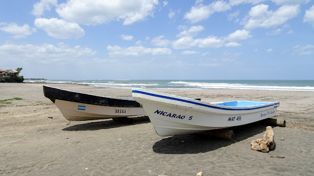 El Transito beach Nicaragua