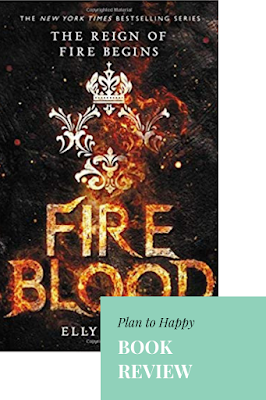 Review of Fireblood: I really wanted to love Fireblood as much as I loved Frostblood, but no such luck.