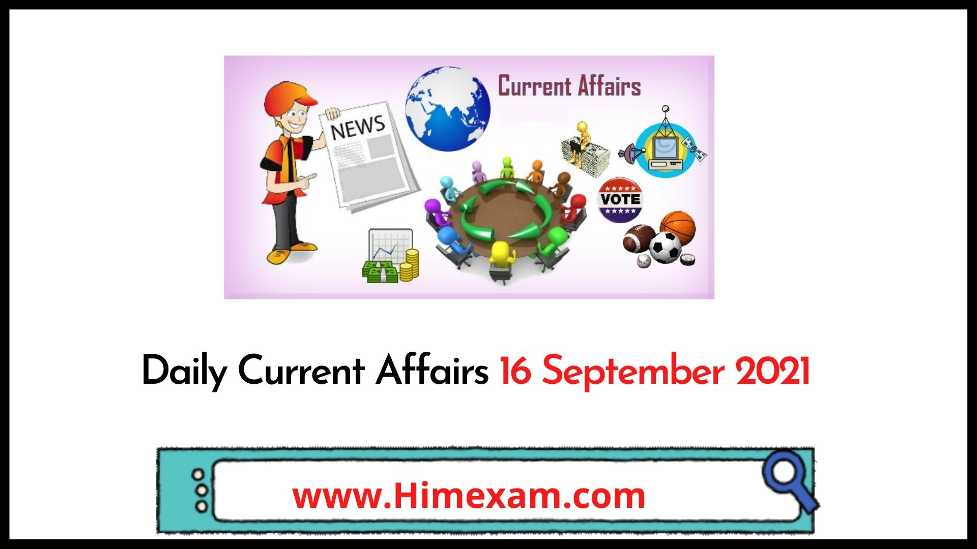 Daily Current Affairs 16 September 2021
