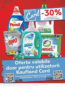 CATALOG KAUFLAND 6 - 12 februarie 2019  reduceri detergent lichid si capsule