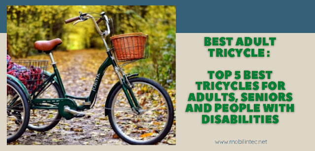 Best Adult Tricycle : Top 5 Best Tricycles for Adults, Seniors And People With Disabilities