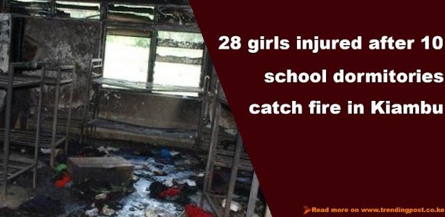 Night fire leaves 28 school girls injured in Kamandura Girls Secondary School