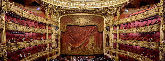Elegant old world theater