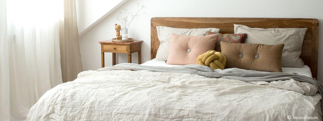 Sypialnia w naturalnych barwach