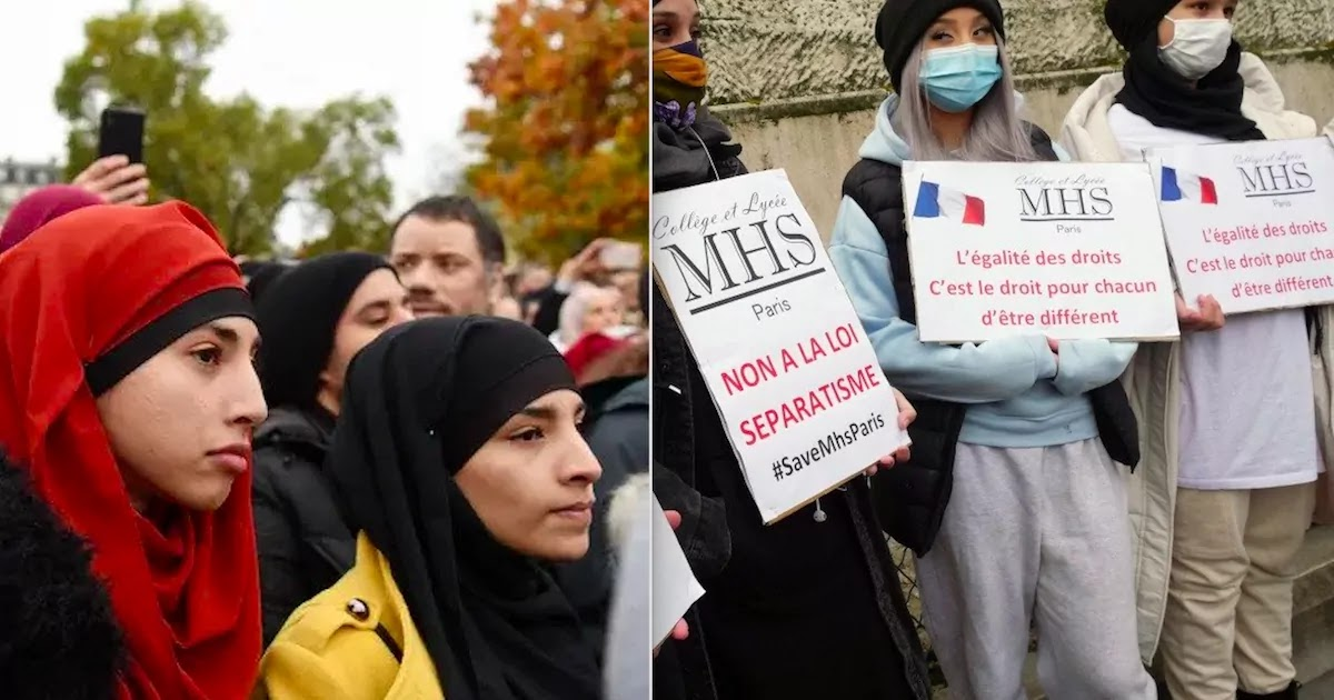 France Votes To Ban Hijab Islamic Headscarf For Under 18-Year-Olds