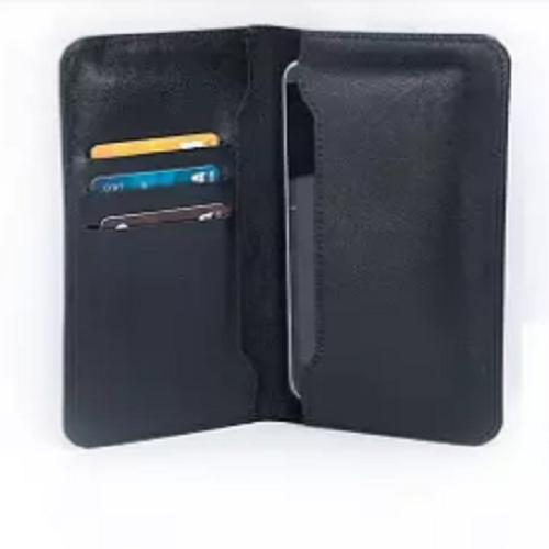 Leather Wallet long Artificial Leather Mobile long Wallet Men's Money Beg