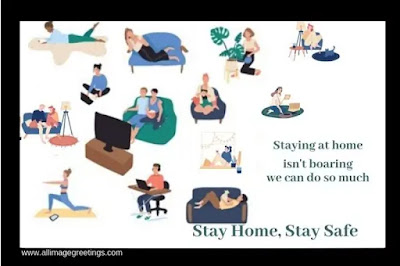 stay home stay safe awareness picture
