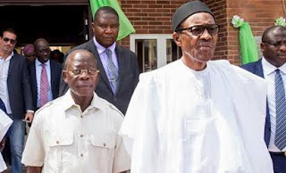Politics: APC crisis! What Oshiomole said after meeting with Buhari