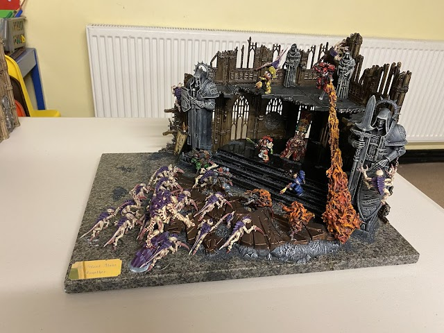 What's On Your Table: Against Tyranids Diorama