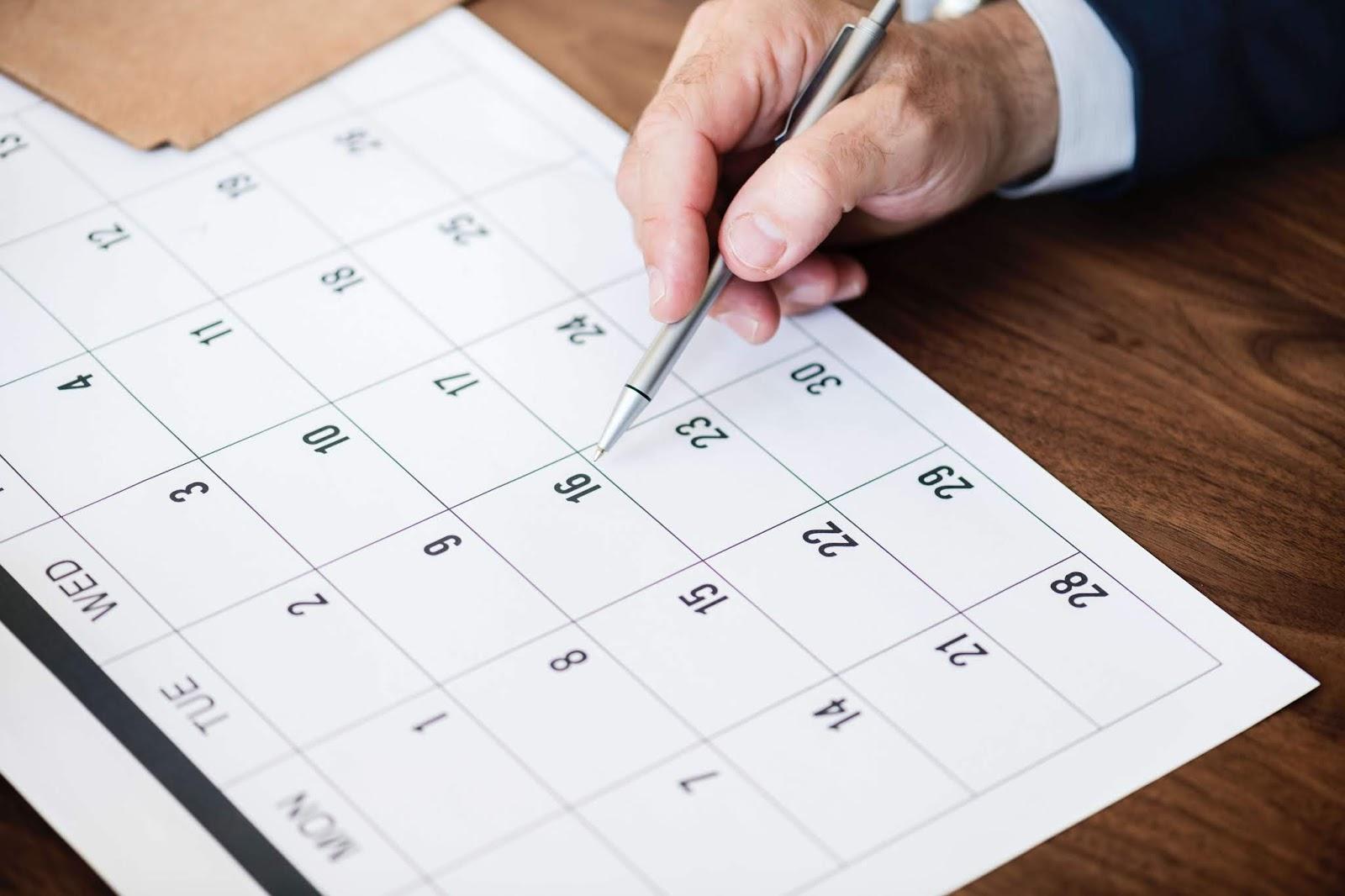 Planejamento para alcançar uma meta