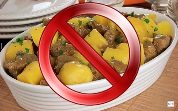 Alimentos que não devem ser consumidos juntos (Imagem: Reprodução/Montagem/GC)