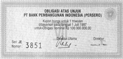Berikut Surat Obligasi Pemerintah & Korporasi Yang Harus Anda Ketahui