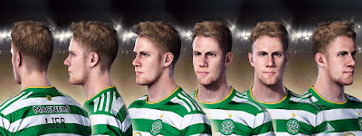 PES 2021 Faces Kristoffer Ajer by Ultra1312