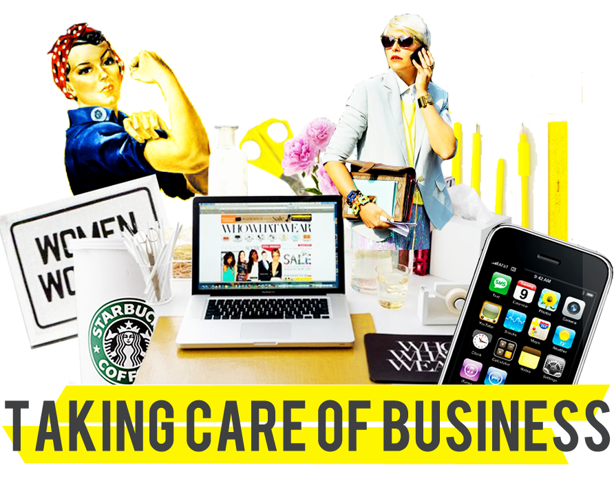 spectacle: TAKING CARE OF BUSINESS: SARA BLAKELY