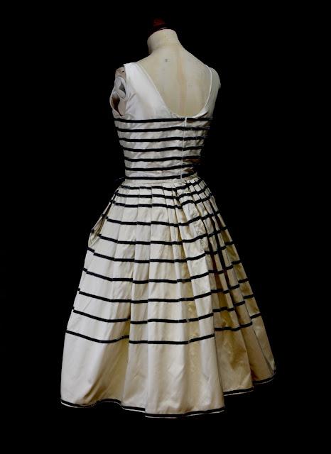 vintage style stripe dress