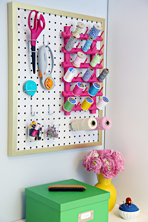 Iheart Organizing The Easiest Pegboard Project Ever