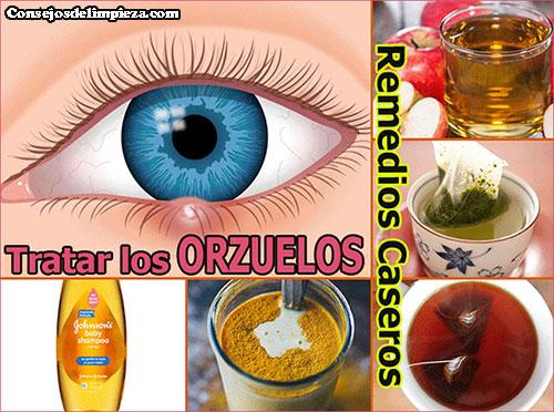 Imágenes de productos que combaten los orzuelos