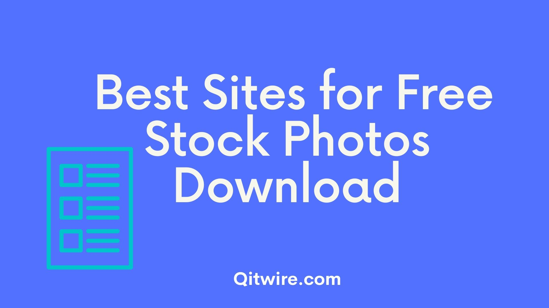 Best Sites for Free Stock Photos Download