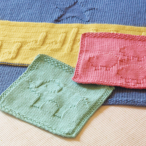 Animal Washcloths - Free Pattern