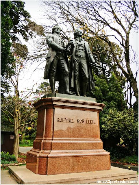 Golden Gate Park: Goethe y Schiller