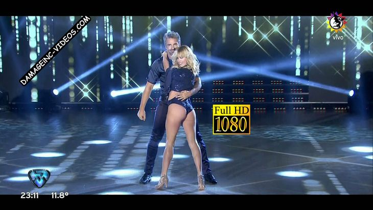 Rocio Guirao Diaz hot ass in Bailando 2017 HD video