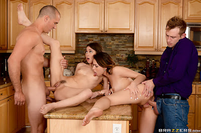 Melissa Moore, Riley Reid – Dinner For Sluts (Real Wife Stories)