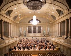 Sala de concierto Mozart. Concierto para clarinete. Clariperu