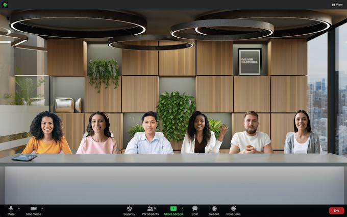 ZOOM lanza 'Immersive View', una nueva y divertida forma de interactuar en las reuniones virtuales 🤩