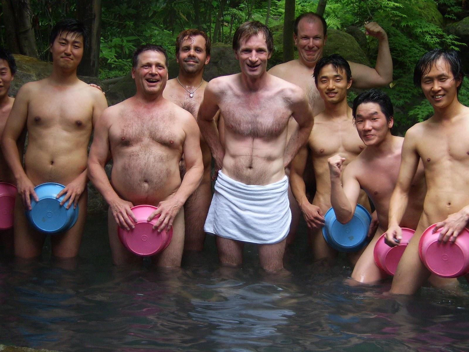 Japanese onsen nude Nude Photos 10
