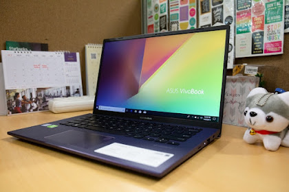 VivoBook Ultra A412 Laptop Baru ASUS Ultrabook 14 inchi