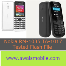 Nokia 130 RM-1035 TA-1017 tested by me flash file download