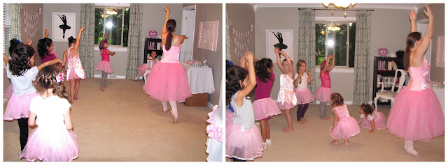 ballerina party activities