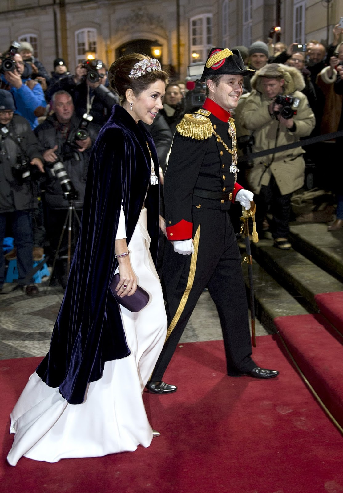 Danish Royal Family on New Year's reception 2015