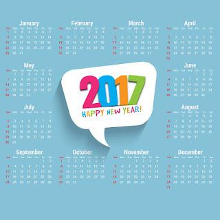 2017カレンダー無料テンプレート181