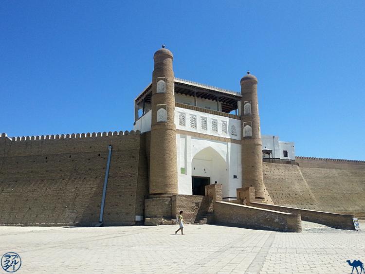 Entrée de la forteresse d'Ark à Boukhara  - Découverte de 'lOuzbékistan en Asie Centrale - Le Chameau Bleu