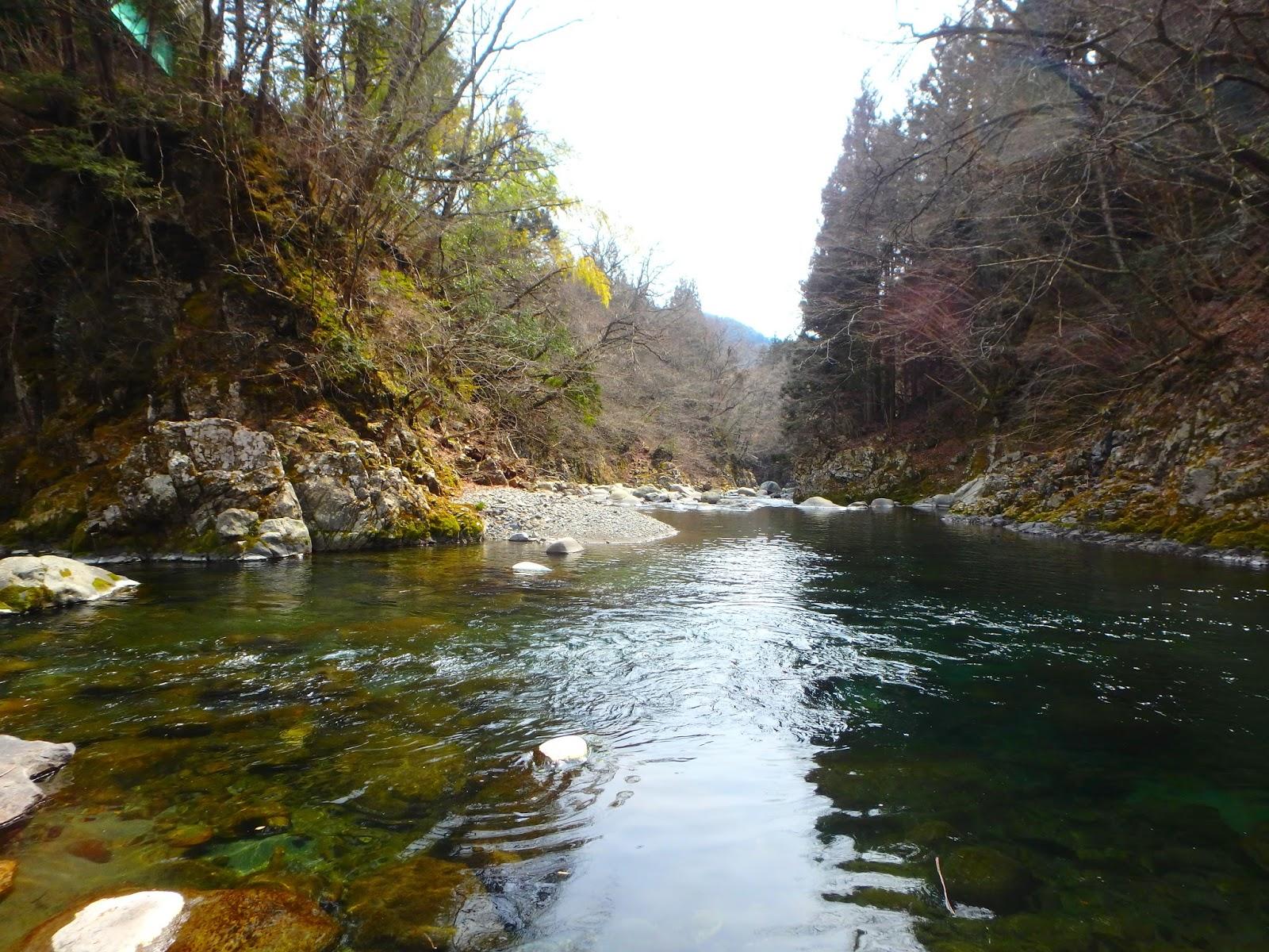 この川をさかのぼり