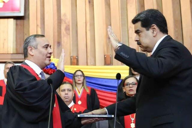 Presidente Maduro se juramenta para nuevo mandato luego de ganar elecciones del 2018