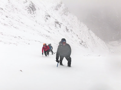 winter climbing, Torridon