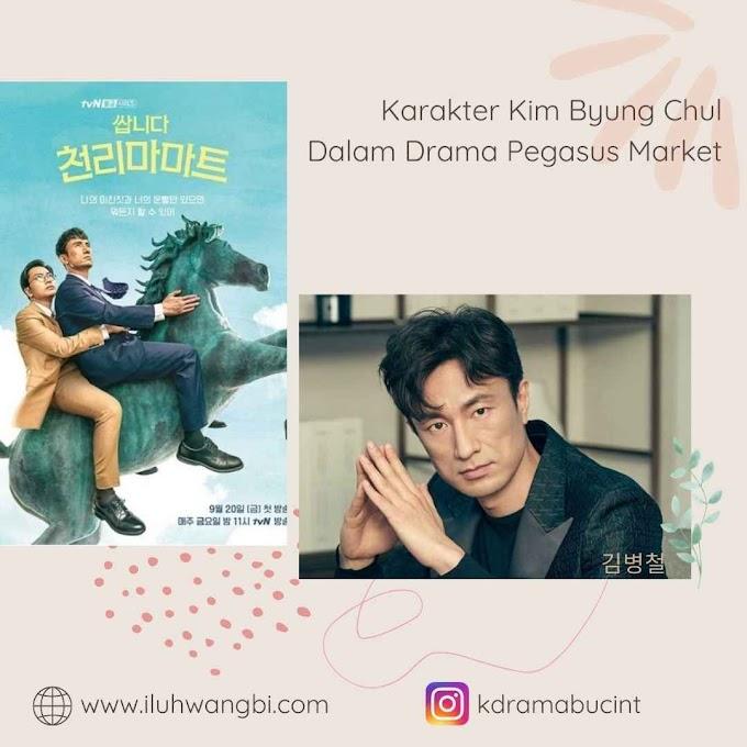 Karakter Kim Byung Chul Dalam Drama Pegasus Market