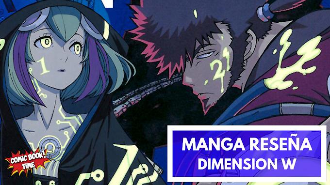 Manga Reseña: 'Dimension W', la evolución y el futuro de la Tierra | Editado por Norma Editorial