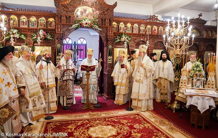 Λαμπρό Συλλείτουργο για τον Άγιο Λουκά στη Βέροια (ΦΩΤΟ)