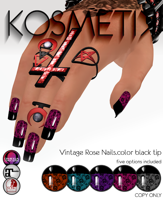 .kosmetik Vintage Rose Nails