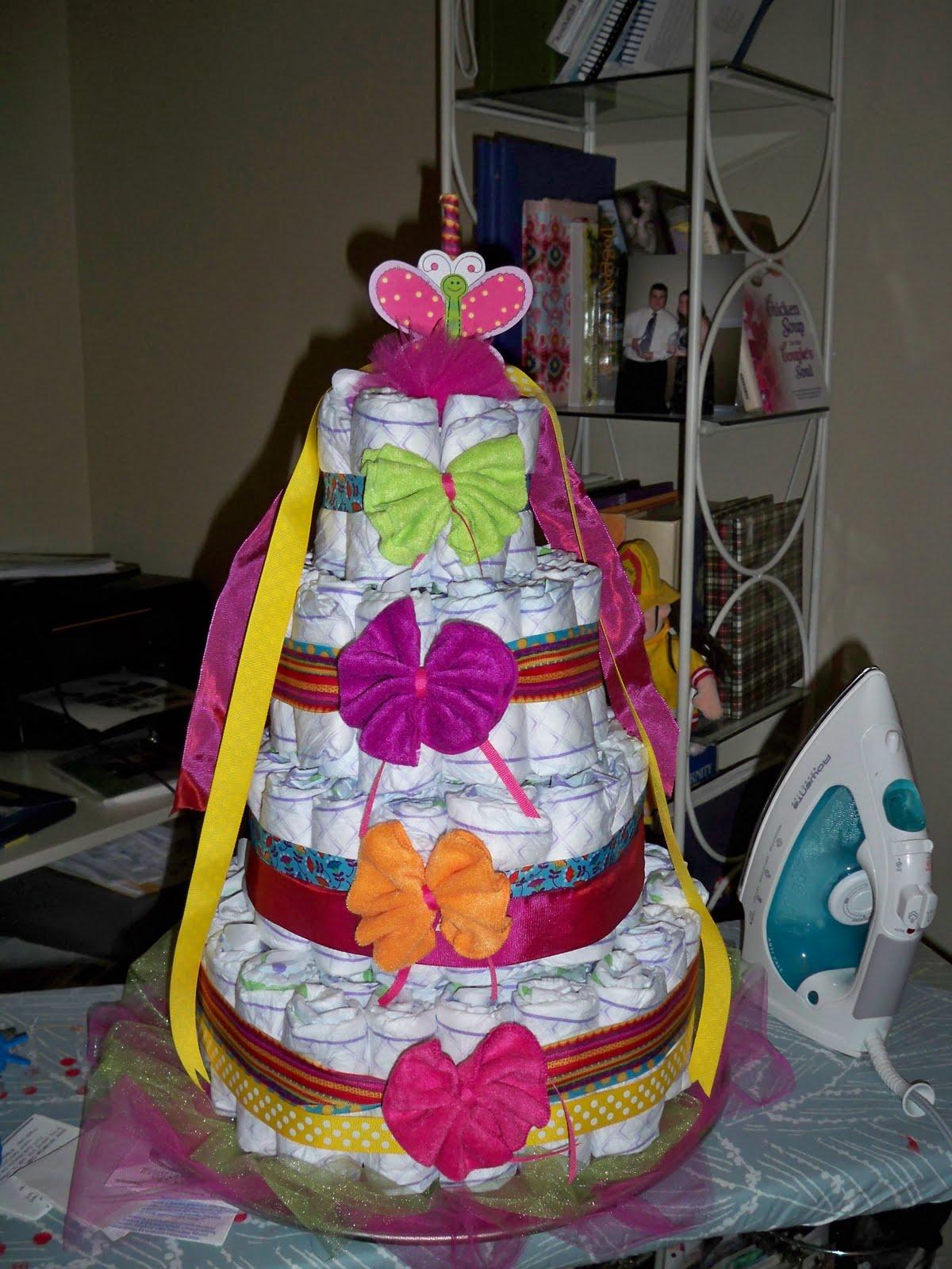 Rosenbergh Fam Diaper Cake Supplies